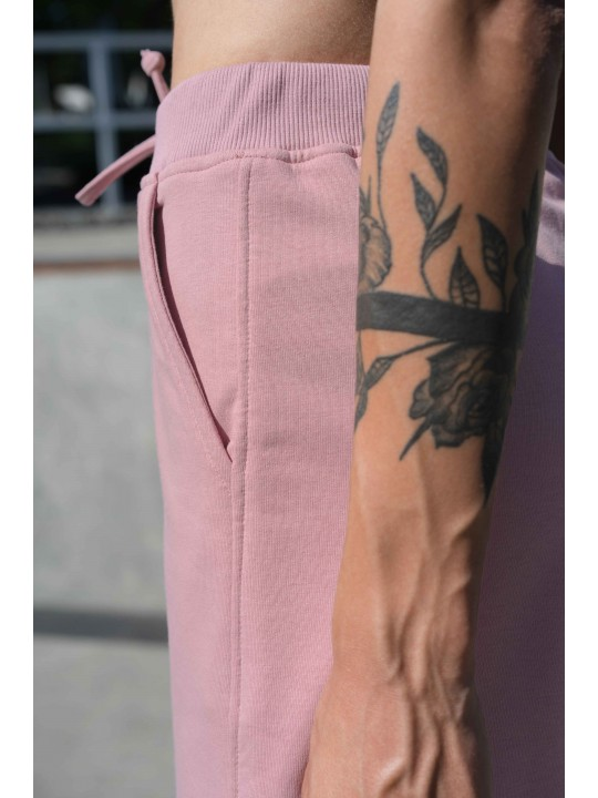 Розовые шорты с высокой посадкой Colo