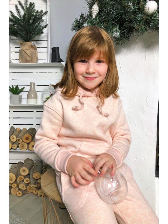 Теплый Розовый Костюм Детский