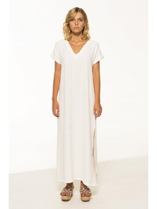 Платье Свободного Кроя (Молочный)