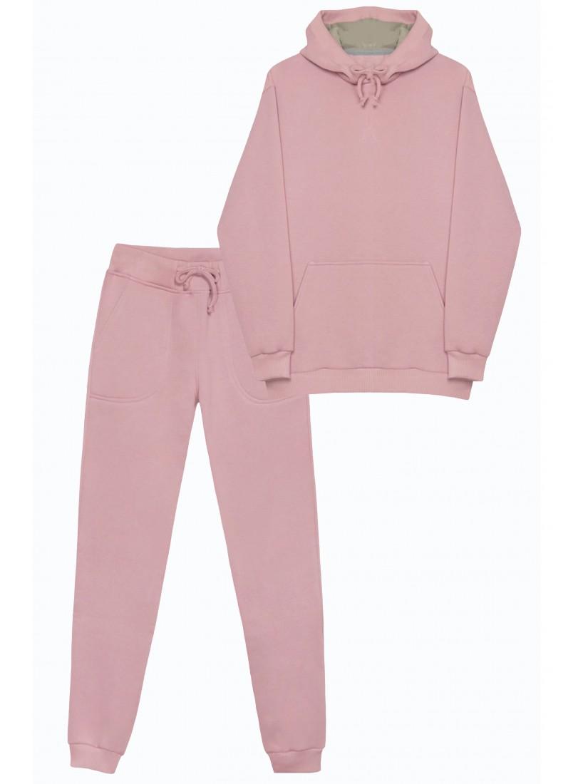 Теплый Розовый Костюм