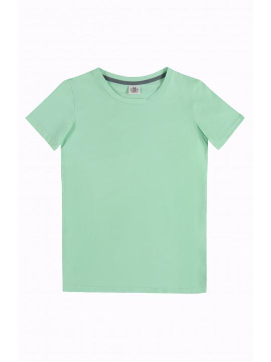 Мятная базовая футболка