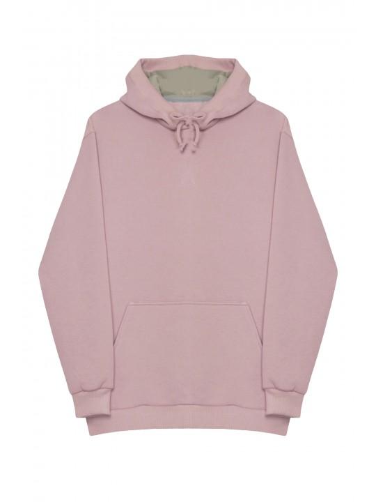 Теплый Розовый Худи