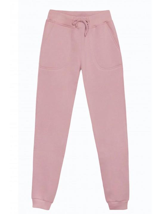 Теплые Розовые штаны