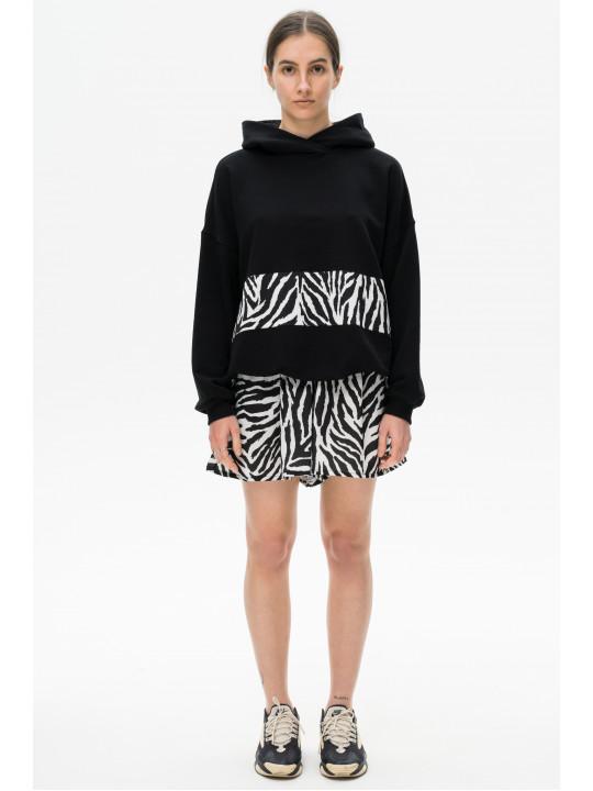 Сафари костюм шорты-юбка зебра Colo