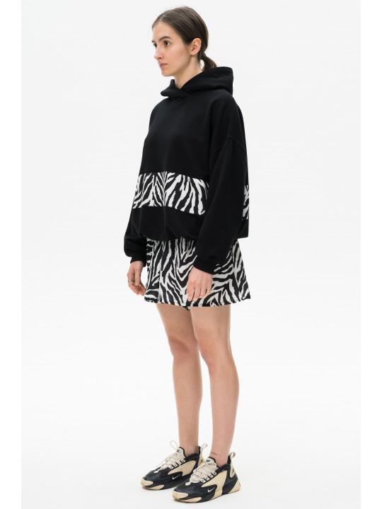 Шорты-юбка зебра Colo