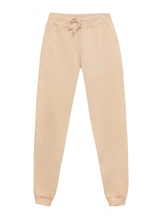 Базовые Бежевые штаны