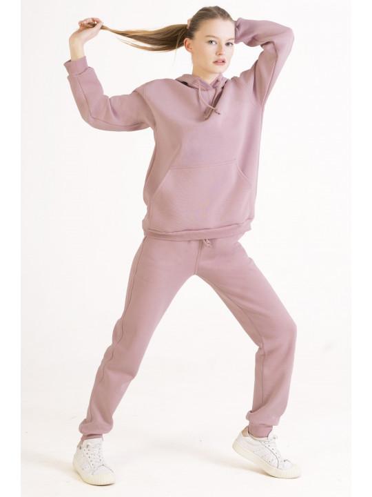 Розовый Худи
